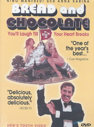 BREAD AND CHOCOLATE BY MANFREDI,NINO (DVD)